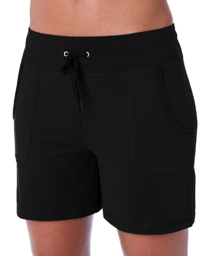 Danskin Women's Cotton Stretch Drawcord Short