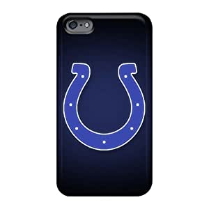 Shockproof Hard Phone Covers For Apple Iphone 6 Plus (Nbj1538CRLI) Unique Design HD Indianapolis Colts Pictures