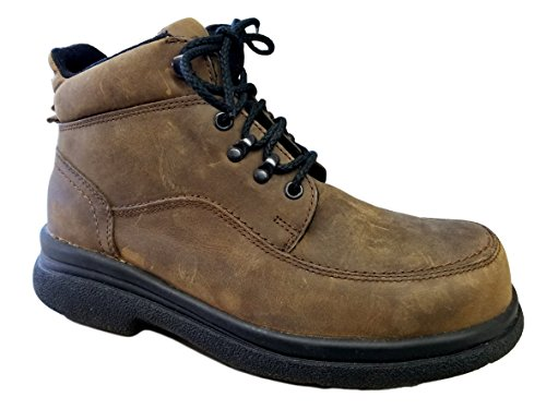 Mens Work Boot Chukka (RW 6662) Static Dissipative, Steel Toe … (8EEE, 6662-Smoke Traction Lthr)