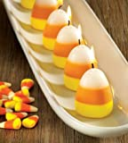 Tag Halloween Candy Corn Scented Candles - Set of 6