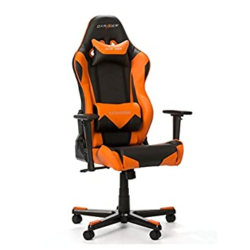 Strange Dxracer Racing Series Gaming Chair Black Orange Oh Re0 No Andrewgaddart Wooden Chair Designs For Living Room Andrewgaddartcom