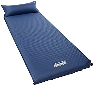 Coleman Self-Inflating Camp Pad with Attached Pillow