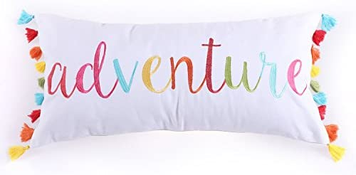 Levtex Mayla Adventure Tassels 12×24 Pillow