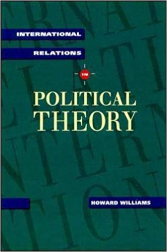 Amazon com: International Relations in Political Theory