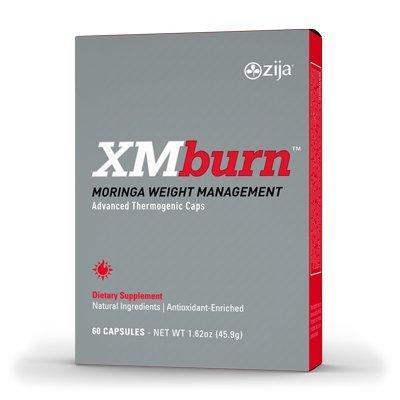 Zija XM BURN Dietary Supplement (60 Capsules)