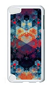 Ipod 5 Case,MOKSHOP Cool patterns abstract 88 Hard Case Protective Shell Cell Phone Cover For Ipod 5 - PC White