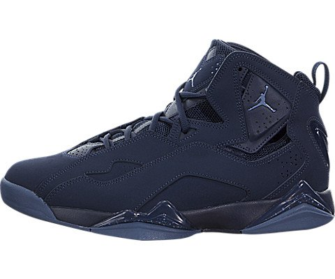 Nike Jordan Men's Jordan True Flight Basketball Shoe Obsidian/Ocean Fog 7.5 D(M) US by Jordan (Image #5)
