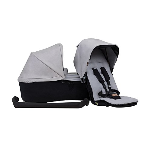 Mountain Buggy Duet 3.0 Family Pack in Silver by Mountain Buggy