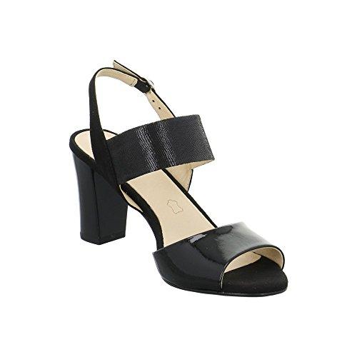 Gril Vrouwen 28307 Open Sandalen Met Sleehak Zwart
