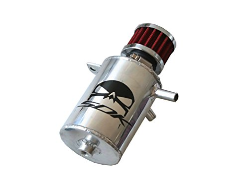 SRT-4 Oil Catch Can Breather (Bright Silver Metallic) by SDK Motorsports
