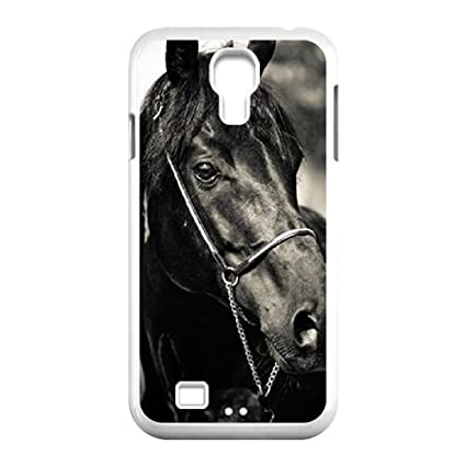 cheaper ffdfe 24d95 Amazon.com: WEUKK Horse Samsung Galaxy S4 I9500 shell case, custom ...