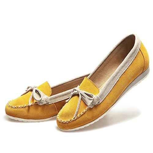 M&A Damen Slipper Gelb 36(Herstllergröße: 36)