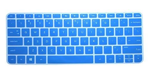 CaseBuy HP Stream 11 11.6 Keyboard Protector Skin Cover for HP Stream 11-d011wm 11-p091nr 11-p110nr 11-r010nr 11-r020nr US Version(Blue)
