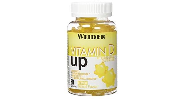 WEIDER Gummy up Revolution SIN GLUTEN Vitamin D 50 Gom.: Amazon.es: Alimentación y bebidas