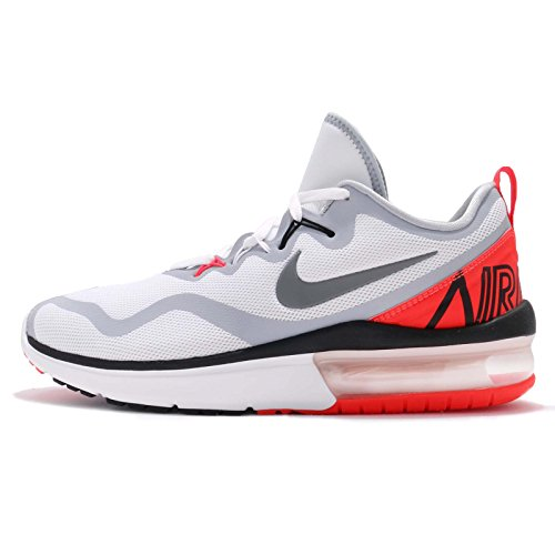 Nike Mens Air Max Fury, Bianco / Freddo Grigio-infrarosso Bianco / Freddo Grigio-infrarosso