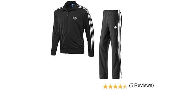 Adidas Firebird – Chándal completo para hombre (negro, tamaño ...