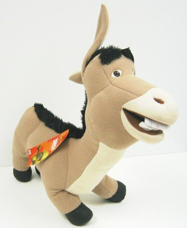 Shrek 2 DONKEY Plush Cuddle Pillow 26""
