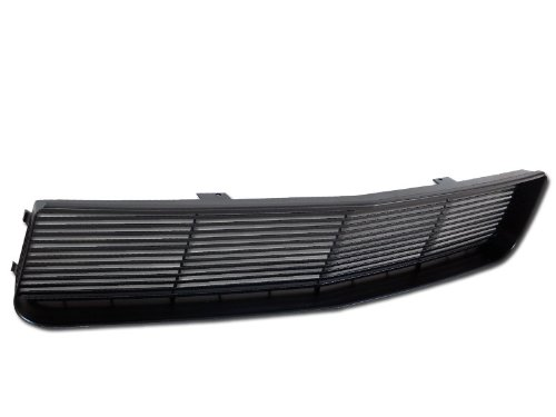 Black Horizontal Style ABS Front Hood Bumper Grill Grille 05-09 Ford Mustang V6 Model Only ( Will Not Fit GT Models )