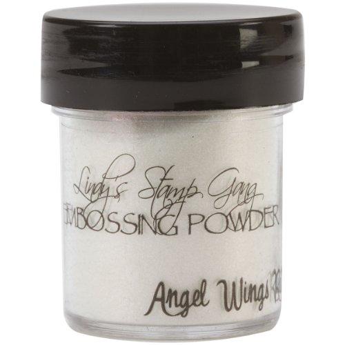 Lindy's Stamp Gang 2-Tone Embossing Powder, 0.5-Ounce Jar, Angel Wings Ruby