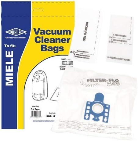 Juego de filtros para aspiradora Miele GN saugstärkere, tipo, Electruepart bag307 (Incluye): Amazon.es: Hogar