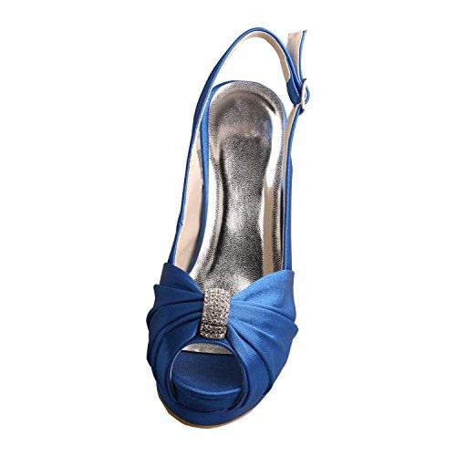 Wedopus - Zapatos con correa de tobillo mujer Verde
