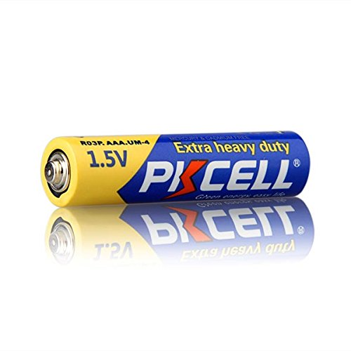 1.5V AAA R03P Carbon Zinc Battery 2000pcs by PKCELL (Image #3)