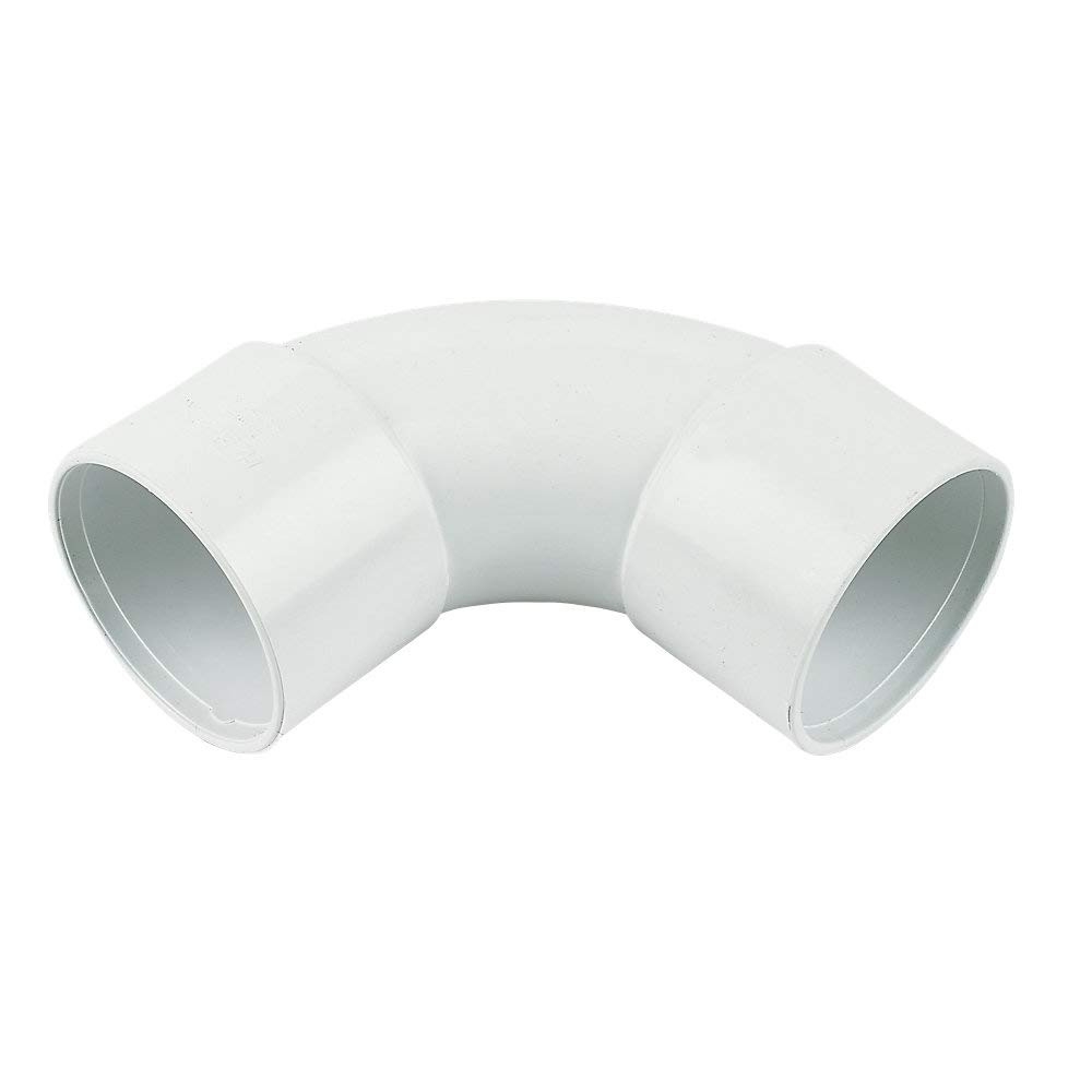 40mm Waste Pipe uPVC Pipe Clip White Not solvent weld