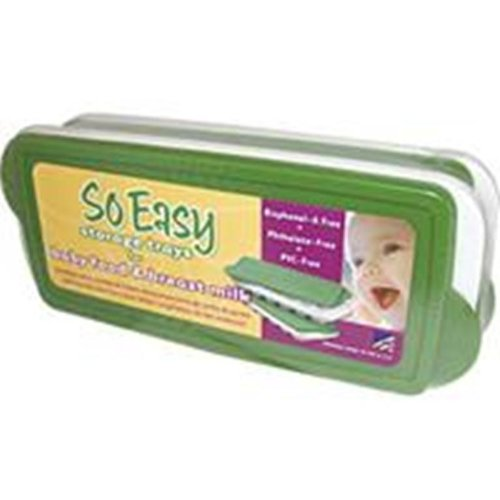 Fresh Baby So Easy Baby Food Freezer Trays With Lids – 2 Set, Pack of 2, Health Care Stuffs