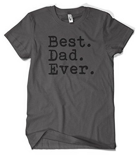 Cybertela Black Best Dad Ever Men's T-shirt