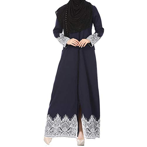 Marine Ladies Ramadan Oyedens Muslim Di Le Lunghi Donne Abbigliamento Kaftan Abaya Rayon Per Embroidery Dubai Marca Moda Abiti Islamic Mode Dress Islamico Musulmano Robe PkwnN8XZ0O