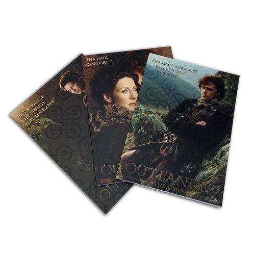 (Factory Entertainment Outlander Collector Notepad Set (3 Designs))
