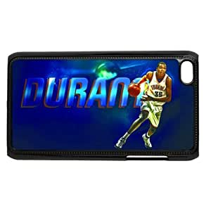NBA Oklahoma City Thunder Kevin Durant Hard Plastic Back Case Cover for ipod touch 4/4G/4th Generation-TOC-05779