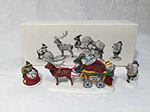 Dept 56 Letters for Santa Set of 3 Christmas Figurines - Heritage Village Collection by Department 56