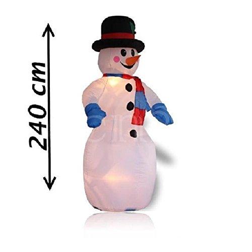 Christmas Gift - Muñeco de Nieve Hinchable con Ventilador ...