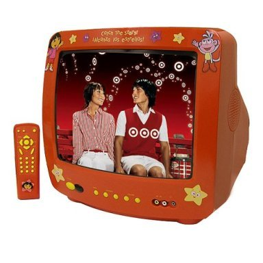 Emerson Dora The Explorer 13 Tv Red Dte315 Amazon In Toys Games