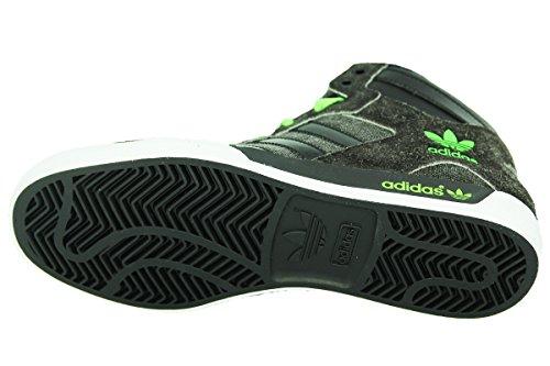 Adidas HARDCOURT HI Schwarz Denim Herren Sneakers Schuhe Neu