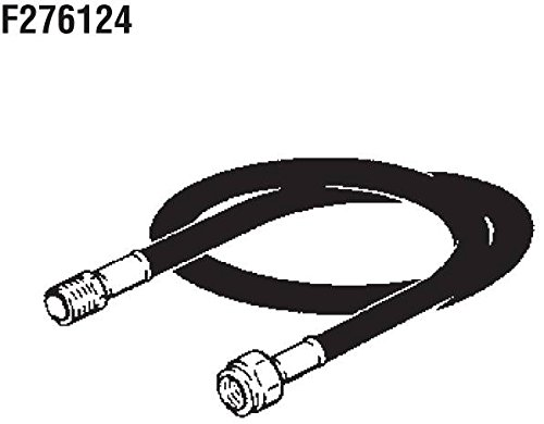 Mr. Heater F276124 5' Propane Hose Assembly with 3/8'' Male Pipe Thread X 3/8'' Female Pipe Thread