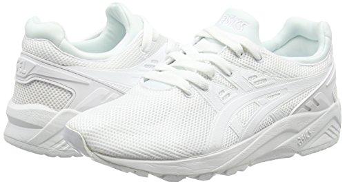 kayano 0101 Trainer Mixte Blanc white Asics Adulte Evo white Basses Gel Baskets S57n1nqw4P