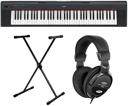 Yamaha NP-30 31 Stage Piano, incluye soporte para teclado ...