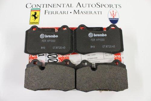 Brembo Ferrari - OEM Ferrari 612 Scaglietti and 599 GTB Rear Brake Pads 70001058