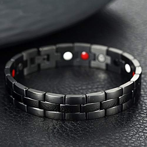 - Chirpa Therapeutic Energy Healing Bracelet Stainless Steel Magnetic Therapy Bracelet