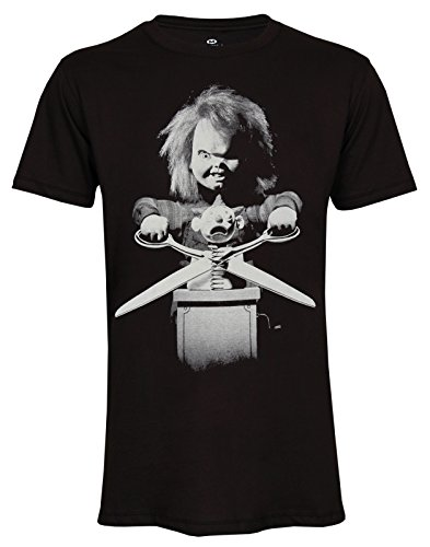 Topfusion Chucky Doll Child's Play Film Movie T-Shirt Size S