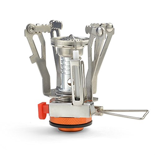 ODOLAND Camping Stove Backpacking Collapsible
