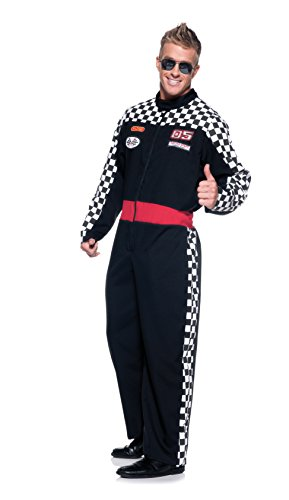 Dale Earnhardt Halloween Costume (Men's Race Car Driver Costume - Speed)
