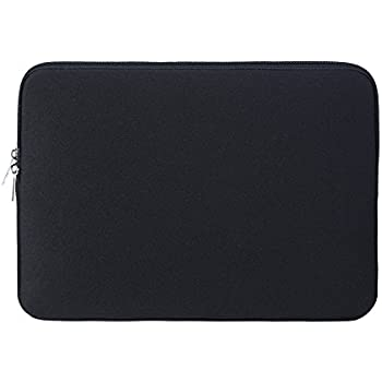 "RAINYEAR 14 Inch Laptop Sleeve Computer Case Protective Padded Carrying Bag Cover for 14"" Notebook Chromebook Ultrabook of Dell HP ThinkPad Lenovo Asus Acer Toshiba Samsung(Black)"
