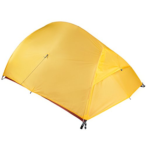Bryce 2P Two Person Ultralight Tent and Footprint - Perfect for Backpacking, Kayaking, Camping and Bikepacking by Paria Outdoor Products (Image #4)
