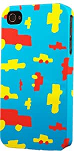 Toy Trucks Pattern Dimensional Case Fits Apple iPhone 5c
