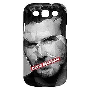 Loud Universe Samsung Galaxy S3 David Beckham Print 3D Wrap Around Case - Multi Color