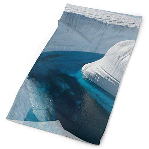 CHJOO Towel Headbands Ice Canyon Headwear Bandana Sweatband