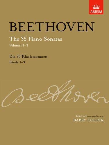 The 35 Piano Sonatas: v. 1-3 (35 Piano Sonatas)